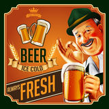老啤酒 库存图片
