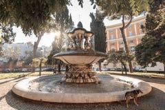 老喷泉罗马 免版税库存图片