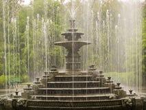 老喷泉 免版税库存图片