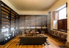 老国会大厦法律图书馆 免版税库存照片