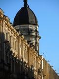 老国会大厦的细节,波哥大,哥伦比亚。 免版税库存照片