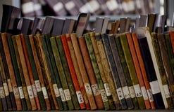 老图书馆书 免版税库存照片