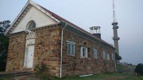 老图书馆建筑 库存照片