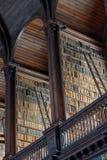 老图书馆,三一学院,都伯林-书凯尔斯17 库存照片