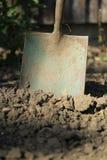 老土壤锹二 免版税库存图片