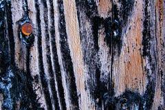 老土气木纹理墙壁 库存照片