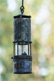 老土气油灯 库存图片