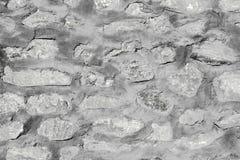 老土气石墙纹理和样式 免版税库存图片
