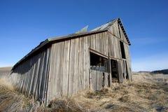 老土气谷仓。 免版税图库摄影