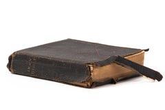老圣经和葡萄酒 库存图片