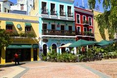 老圣胡安在波多黎各 免版税图库摄影
