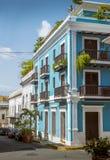 老圣胡安在波多黎各 图库摄影