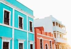 老圣胡安波多黎各加勒比 库存照片