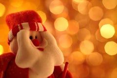 老圣诞老人 免版税库存图片