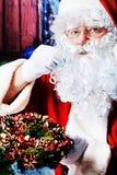 老圣诞老人 免版税库存照片