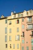 老地中海结构的颜色 免版税图库摄影