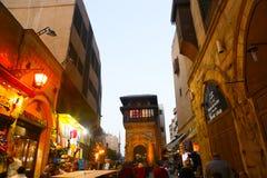 老地方在开罗,埃及 免版税库存图片