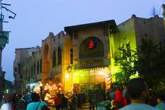 老地方在开罗,埃及 库存照片