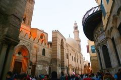 老地方在开罗,埃及 免版税图库摄影