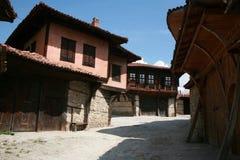 老地道保加利亚房子 免版税库存图片