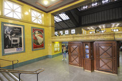 老地铁站在柏林 库存图片