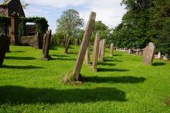 老坟园在苏格兰 免版税库存照片
