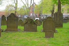 老坟场,哈利法克斯,新斯科舍,加拿大 免版税库存图片