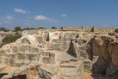 老坟茔在凯里尼亚 库存图片