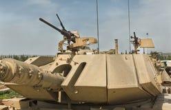 老坦克和装甲车 免版税库存图片