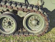 老坦克战争 免版税库存图片
