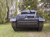 老坦克 库存图片