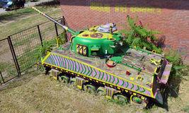 老坦克 免版税图库摄影