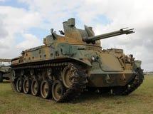 老坦克 免版税库存照片