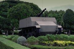老坦克 免版税库存图片