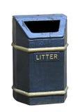 老垃圾桶 库存照片