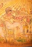 老埃及国王的国王纸莎草的 免版税库存照片