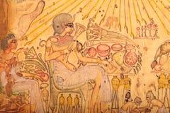 老埃及神 库存图片