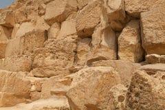 老埃及金字塔墙壁细节  库存图片