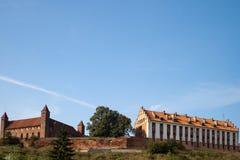 老城堡。 库存照片