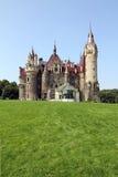 城堡Moszna,波兰。 免版税图库摄影