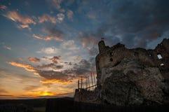 老城堡在波兰 免版税库存图片