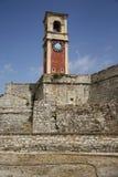 老城堡在科孚(希腊) 库存照片