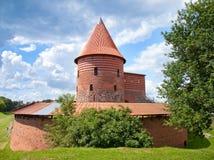 老城堡在考纳斯 免版税图库摄影