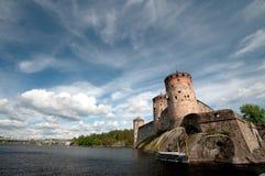 老城堡在芬兰 免版税库存照片