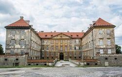 老城堡在Holic,斯洛伐克,文化遗产 免版税库存图片