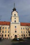 老城堡在Rzeszow 图库摄影