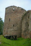 老城堡小山 免版税库存照片