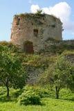 老城堡小山 免版税库存图片