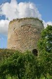 老城堡小山 免版税图库摄影