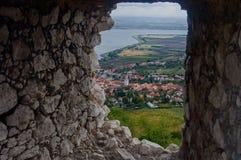 老城堡废墟-巴甫洛夫 免版税库存图片